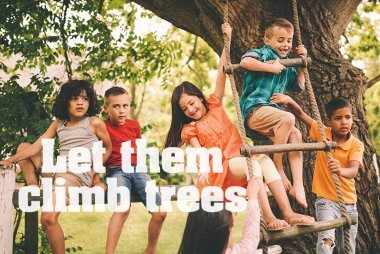 There are many benefits of nature for children's health.