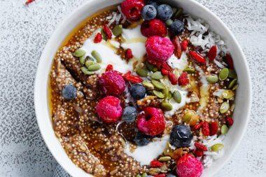 Sally Obermeder's Quinoa Brekkie Bowl recipe