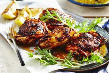 sally obermeder roast harissa chicken
