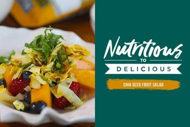 Chia Seed Fruit Salad