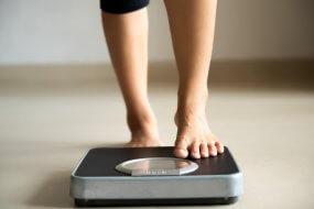 women v men weight gain