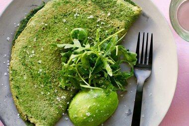 luke hines green omelette