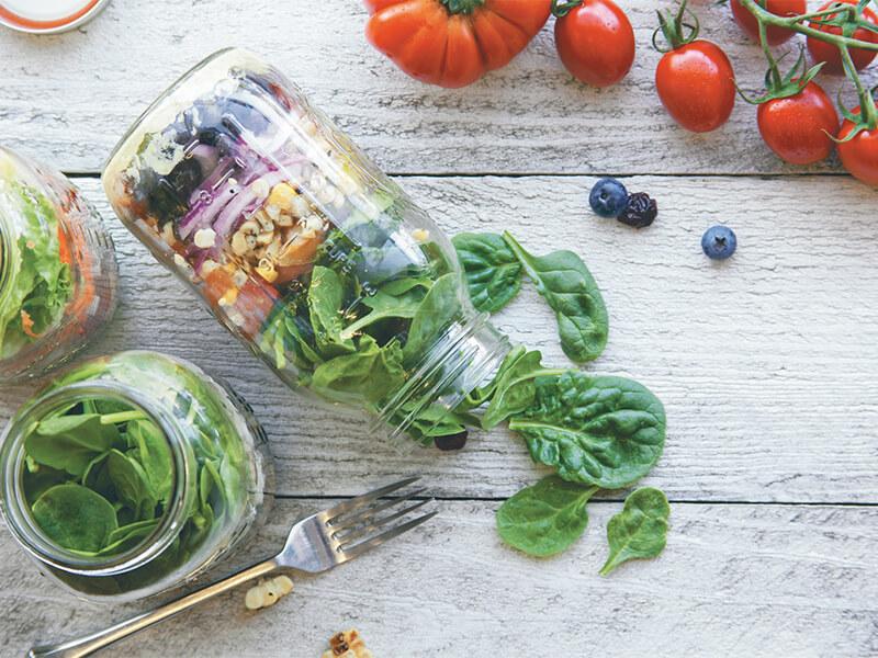go greek salad jar