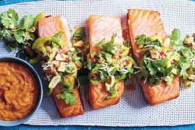 luke hines satay salmon